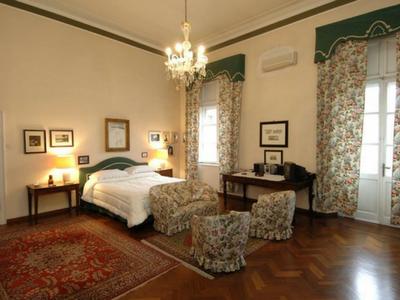 Camera da letto a Palazzo Arrivabene