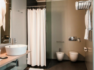 Bagno hotel di lusso a Mantova Casa Poli