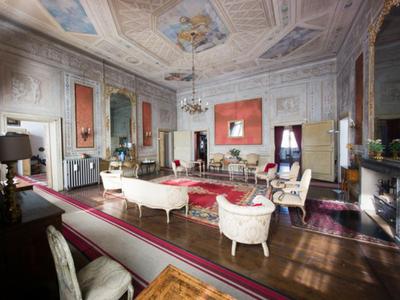 Ampia sala a Palazzo Castiglioni a Mantova